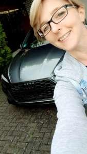 Audi schwarzen NS
